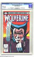 Modern Age (1980-Present):Superhero, Wolverine Comics Group (Marvel, 1982-89). This is a nice lot ofvery high-grade Wolverine comics. It consists of Wolverine...(Total: 3 Comic Books Item)