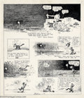Original Comic Art:Comic Strip Art, George Herriman - Original Comic Strip Art for Krazy Kat, dated 12-21-19 (Hearst, 1919). In all the history of comics and co...