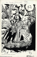 Original Comic Art:Covers, Arthur Adams - Original Cover Art for Doctor Strange Classics #3 (Marvel, 1983). Known for his highly detailed rendering sty...