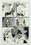 Original Comic Art:Panel Pages, Simon Bisley - Original Art for Lobo Paramilitary Christmas Special#1, page 10 (DC, 1991). The Easter Bunny puts a hit out ...