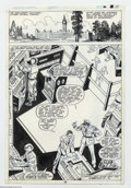 Original Comic Art:Splash Pages, Sal Buscema and Alfredo Alcala - Original Art for Hulk Annual #8,page 10 (Marvel, 1979). Five hundred meters below the Cana...