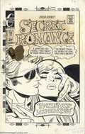 Original Comic Art:Covers, Art Capello - Original Cover Art for Secret Romance # 23 (Charlton,1973). Art Capello's romance comic work is filled with t...