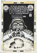 Original Comic Art:Covers, Luis Dominguez - Original Cover Art for Weird War Tales #28 (DC,1974). An exceptional cover by the underrated Luis Domingue...