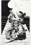 Original Comic Art:Splash Pages, Kevin Eastman and Simon Bisley - Original Art for Bodycount, Book1, page 20 (Image, 1996). Kevin Eastman teams up with Simo...
