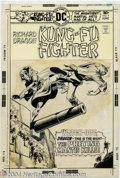 Original Comic Art:Covers, Dick Giordano - Original Cover Art for Richard Dragon Kung-FuFighter #9 (DC, 1976). Dick Giordano, who set the style for in...