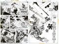 Original Comic Art:Panel Pages, Russ Heath - Original Art for Our Army at War #257 Group (DC,1973). This sterling group of pages is from one of the most co...