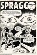 Original Comic Art:Splash Pages, Jack Kirby - Original Art for Journey into Mystery #68, page 7(Marvel, 1961). Look into the eyes of Spragg, the Living Hill...