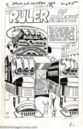Original Comic Art:Splash Pages, Jack Kirby - Original Art for Journey Into Mystery #81 (Marvel,1962). This fantastic splash page features what has to be on...