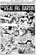 Original Comic Art:Splash Pages, Jack Kirby and Mike Royer - Original Art for Mr. Miracle #15, page16 (DC, 1973). Mister Fez and Jammer take Scott Free and ...