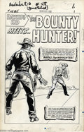 "Original Comic Art:Complete Story, Larry Lieber - Original Art for The Rawhide Kid #48, Complete17-Page Story, ""The Bounty Hunter"" (Marvel, 1965). In the days..."