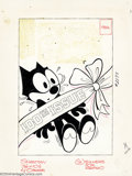 Original Comic Art:Covers, Joe Oriolo - Original Cover Art for Felix the Cat #100 (Harvey,1961). This landmark cover is just begging to be on some luc...