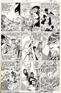 Original Comic Art:Panel Pages, George Perez and Terry Austin - Original Art for X-Men Annual #3,page 26 (Marvel, 1979). The unbeatable team of George Pere...