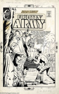 Original Comic Art:Covers, Don Perlin - Original Cover Art for Fightin' Army #106 (Charlton,1972). Only in a '70s war comic would you find a character...