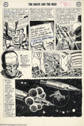 Original Comic Art:Panel Pages, Mike Sekowsky - Original Art for Brave and the Bold #29, page 3(DC, 1960). In this, only the second appearance of the Justi...