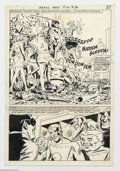 Original Comic Art:Splash Pages, Mike Sekowsky - Original Art for Metal Men #34, page 20 (DC, 1968).Once again, the unique Metal Men are reactivated from th...