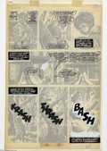 Original Comic Art:Panel Pages, Walt Simonson and Alfredo Alcala - Original Art for Rampaging Hulk, Group of 2 pages (Marvel, 1978). At the tail end of the ...