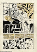 Original Comic Art:Complete Story, Jack Sparling - Original Art for Fighting Forces! #1, Complete Stories, Group of 4 (Harvey, 1952). A real treat for fans of ...