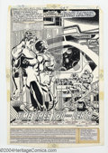 """Original Comic Art:Complete Story, Joe Staton - Original Art for Green Lantern #137, Complete 17-page Story, """"Time Times Two Equals Death"""" (DC, 1981). The Emer..."""