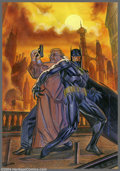 Original Comic Art:Covers, Brian Stelfreeze - Original Cover Art for Shadow of the Bat #49(DC, 1996). Commissioner Gordon and Batman are fully capture...