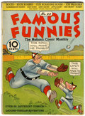Platinum Age (1897-1937):Miscellaneous, Famous Funnies #22 (Eastern Color, 1936) Condition: VG+....