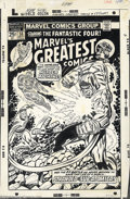 Original Comic Art:Covers, Ron Wilson and Joe Sinnott - Original Cover Art for Marvel'sGreatest Comics #58 (Marvel, 1975). This dramatic cover was use...