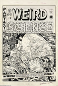 Original Comic Art:Covers, Wally Wood - Original Cover Art for Weird Science #9 (EC, 1951).One of the finest artists to grace the pages of EC Comics, ...