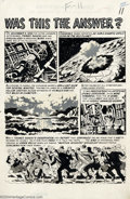 Original Comic Art:Panel Pages, Wally Wood - Original Art for Weird Science-Fantasy #26, page 11(EC, 1954). With the publication of Weird Science-Fantasy...