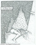 "Original Comic Art:Sketches, Maxon Crumb - Original Sketches, ""A Pussy - Ice"". Cold and kinky are two ways to describe this piece by Maxon. A naked woman..."