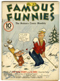 Golden Age (1938-1955):Miscellaneous, Famous Funnies #32 (Eastern Color, 1937) Condition: VG+....