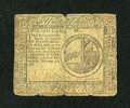 Colonial Notes:Continental Congress Issues, Continental Currency February 17, 1776 $2 Very Good-Fine....