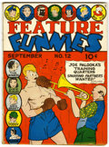 Golden Age (1938-1955):Humor, Feature Funnies #12 (Chesler, 1938) Condition: GD....