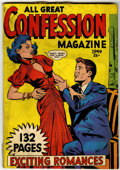 Golden Age (1938-1955):Romance, Fox Giants - All Great Confession Magazine (Fox Features Syndicate,1949) Condition: VG/FN....