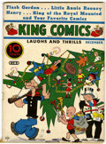 Platinum Age (1897-1937):Miscellaneous, King Comics #9 (David McKay Publications, 1936) Condition: VG+....