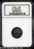 Early Dimes: , 1796 XF40 NGC. ...