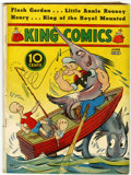 Platinum Age (1897-1937):Miscellaneous, King Comics #15 (David McKay Publications, 1937) Condition: VG....