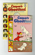 Bronze Age (1970-1979):Cartoon Character, Casper's Ghostland #3 and 4 File Copies Group (Harvey, 1959)Condition: Average VF-.... (Total: 2 Comic Books)
