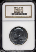 Kennedy Half Dollars: , 1971-D MS67 NGC. ...