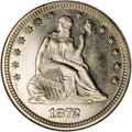 Seated Quarters, 1872 25C MS65 NGC....