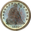 Proof Seated Quarters, 1880 25C PR66 PCGS....