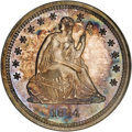 Proof Seated Quarters, 1864 25C PR66 NGC....