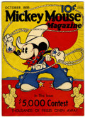 Platinum Age (1897-1937):Miscellaneous, Mickey Mouse Magazine #2 (K. K. Publications, Inc., 1935)Condition: GD/VG....