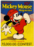 Platinum Age (1897-1937):Miscellaneous, Mickey Mouse Magazine #3 (K. K. Publications, Inc., 1935)Condition: VG....