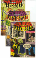 Silver Age (1956-1969):Horror, Tales of the Unexpected Group (DC, 1958-63) Condition: AverageVG+.... (Total: 9 Comic Books)
