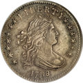 Early Dimes, 1798/97 10C 16 Stars on Reverse AU55 NGC....