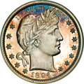 Proof Barber Quarters, 1894 25C PR65 NGC....