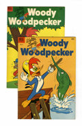 Golden Age (1938-1955):Cartoon Character, Woody Woodpecker #17 and 18 File Copies Group (Dell, 1953)Condition: Average NM-.... (Total: 2 Comic Books)
