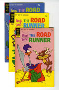 Bronze Age (1970-1979):Cartoon Character, Beep Beep, the Road Runner #25-28 File Copies Group (Gold Key,1971-72) Condition: Average VF+.... (Total: 3 Comic Books)