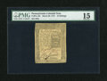 Colonial Notes:Pennsylvania, Pennsylvania March 20, 1773 16s PMG Choice Fine 15....