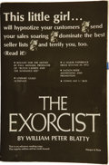 Books:First Editions, William Peter Blatty. The Exorcist....