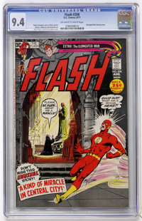 The Flash #208 (DC, 1971) CGC NM 9.4 Off-white to white pages